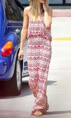Tiered maxi dresses.