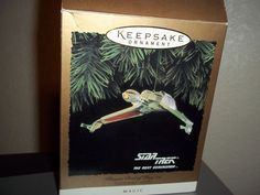 Hallmark Keepsake #Ornament #ST:TNG Light #Klingon Bird-of-Prey Lights 1994 Star Trek The Next Generation