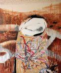 """Uninhabited Thought"", oil on canvas, 100 x 140cm artist: Maia Stefana Oprea www.maiaoprea.ro"