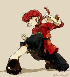 Ranma #solo #fighting