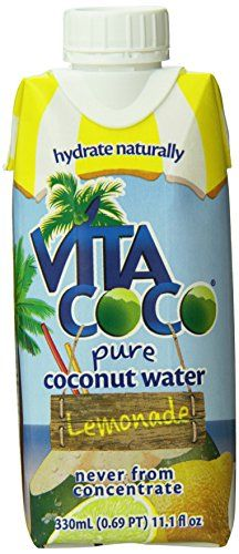 Vita Coco Coconut Water, Lemonade, 11.1 Ounce (Pack of 12) ** You can get additional details at the image link.  This link participates in Amazon Service LLC Associates Program, a program designed to let participant earn advertising fees by advertising and linking to Amazon.com.