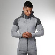 Grey Gymshark Ark Zip Hoodie Clothing, Shoes, Accessories Size M Terrific Value