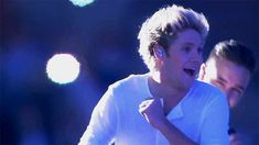 Niall and Liam<<<<HOW CAN YOU JUST PUT NIALL AND LIAM FOR THIS? THIS IS LIKE THE CUTEST GIF OF THEM I'VE EVER SEEN