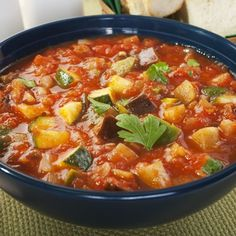 Ratatouille at Cookeo - Maurizio Balm Pressure Cooker Vegetable Soup, Vegetarian Vegetable Soup, Vegetable Soup Crock Pot, Crock Pot Vegetables, Healthy Vegetables, Vegetable Recipes, Pressure Cooking, Lunch Recipes, Baby Food Recipes