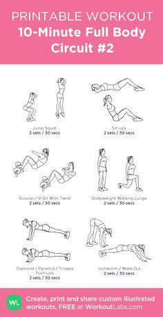 10-Minute Full Body Circuit #2