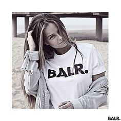 Lisa Roels is looking fantastic in our BALR. shirt!