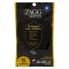 #Dry #Wipes #Cloths #Zagg #shopping #sofiprice Zagg Screen Wipes 15-ct. - https://sofiprice.com/product/zagg-screen-wipes-15-ct-174747506.html