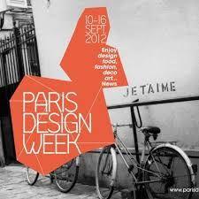 Afbeeldingsresultaat voor paris design week poster