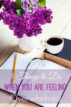 Feeling overwhelmed and stressed? These are some great tips to help you get more done with less stress.