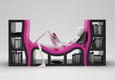 Tim Burton Furniture | Furniture in Pink and Black colours