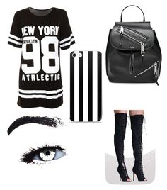 """""""No name"""" by martialartsqueen ❤ liked on Polyvore featuring Pilot and Marc Jacobs"""