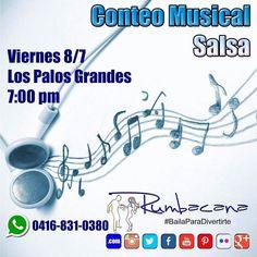 Hoy desde las 7:00 pm Conteo Musical #Salsa En Los Palos Grandes