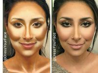 highlight and contour for african american | ... makeup Contour Makeup Contour Makeup! Makeup - contour and highlight