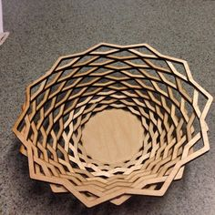 Yes you can cut bowls with a laser #woodworking #lasercut #madeinsc…