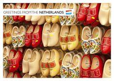Holländische Holzschuhe   Urlaubsgrüße   Echte Postkarten online versenden…