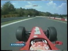 Michael Schumacher at his best III- pole achieved on first lap!
