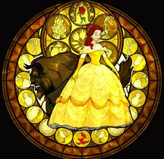 Stained Glass Disney | Belle-Stained-Glass-disney-princess-31396699-1224-1196.jpg