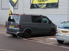 Nice VW T5 snapped in a car park.