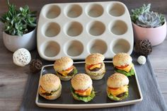 12er Snack von Pampered Chef: Mini-Burger