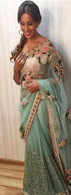 Georgette Wedding Sari FemmesVêtements Pakistan Indian Autres PXTukZOi