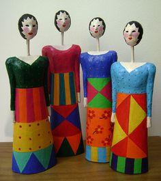 dolls by Eleonora Dobbin