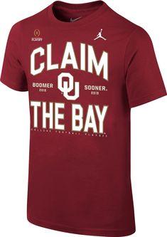 Jordan Youth Oklahoma Sooners 2018-19 College Football Playoff Semifinal Bound  T-Shirt 776e61ec7