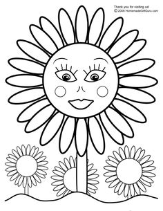 Sunflower Coloring Pages For Kids 001 See the category to find more printable coloring sheets. Also, you could use the search box to find what you wan. Sunflower Coloring Pages, Summer Coloring Pages, Butterfly Coloring Page, Easy Coloring Pages, Pokemon Coloring Pages, Free Coloring Sheets, Online Coloring Pages, Coloring Pages For Girls, Cartoon Coloring Pages