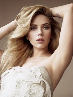 Scarlett Johansson: gorgeous of course and she's my wife or at least one of my many wife's