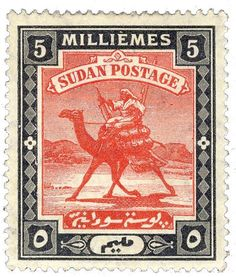 Sudan's first stamp issue was sketched in a hurry in 1898, even as British troops fought for control of the country. Yet the Camel Postman would become one of the most enduring designs ever.