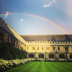 """No one but me and an ancient literature don from Magdalen College seemed to use them."" All Souls Trilogy / Photo: Magdalen College christianbprobst"