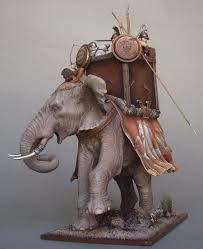 Image result for hannibal 54mm war elephant
