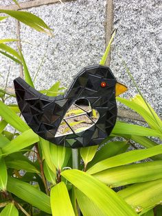 Black Bird Stake by Carrie-Bee, via Flickr
