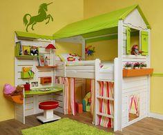 Chambre enfant licorne