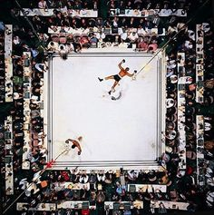 Muhammad Ali knocks out Cleveland Williams at the Astrodome, Houston 1966