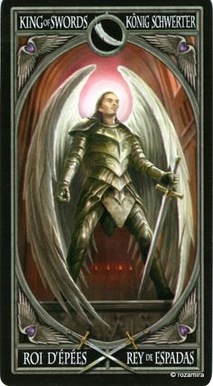 King of swords- you come to me seeking justice and I offer my judgement impartially, for that us the course, set down by my regal forefathers and I shall uphold that duty to the best of my abilities!