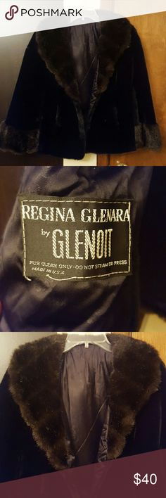 Regina glenara by glenoit Made in USA 1960's black cape in great shape! Winter is here and would look lovely with a beautiful outfit for a night out. regina glenara by glenoit  Jackets & Coats Capes