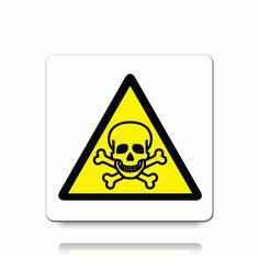 Toxic Warning Symbols