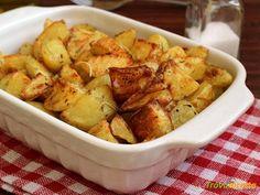 PATATE AL FORNO CROCCANTI E PERFETTE  #ricette #food #recipes