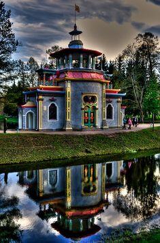Visit The Creaking Summer-House, Saint Petersburg, Russia