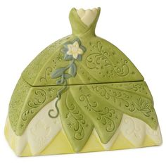 The Princess and the Frog Tiana Dress-Shaped Treasure Box