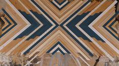 Wood Wall Decor, Wooden Decor, Wooden Wall Art, Diy Wall Art, Estilo California, Wood Mosaic, Wood Creations, Barn Quilts, Diy Home Crafts