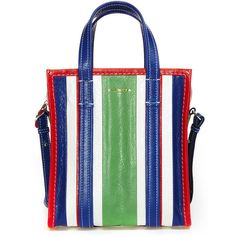 Balenciaga 'Bazar' Small Bag (82.565 RUB) ❤ liked on Polyvore featuring bags, handbags, white handbags, leather purses, leather bags, real leather purses and balenciaga