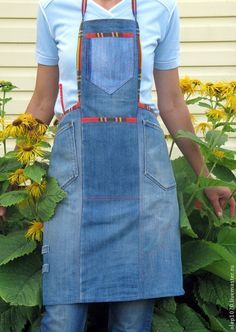Image result for jeans apron