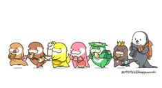Otter Cartoon, Cute Gif, Otters, Peanuts Comics, Kawaii, Inspire, Twitter, Party, Food