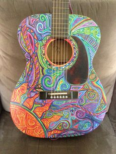 This is the kind of guitar you pick up and pretend you know what you're doing.