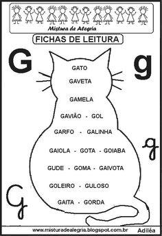 Portuguese Language, Amazon Gifts, Homeschool, Activities, How To Plan, Gabriel, Reading Activities, Toddler Learning Activities, Letter G Activities