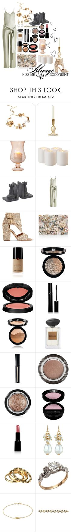 """A nigth at the Castle"" by carlagoiata ❤ liked on Polyvore featuring Brinley Co, Twigs & Honey, House Doctor, Eichholtz, Galvan, Laurence Dacade, Accessorize, Giorgio Armani, Love Quotes Scarves and Emily & Ashley"