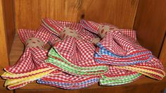 Gingham Cloth Napkins