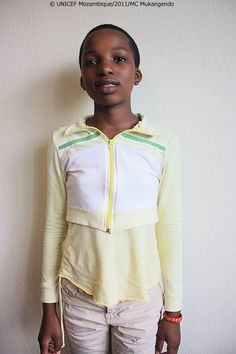 """""""I was seven years old when I started attending school. Those were special days. I still remember that my father took me there. I was happy to be in school because I could play and learn. Though school I have the opportunity to make friends."""" - Artelinda (13)"""