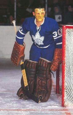 With Johnny Bower he helped to bring the last Stanley Cup to Toronto.